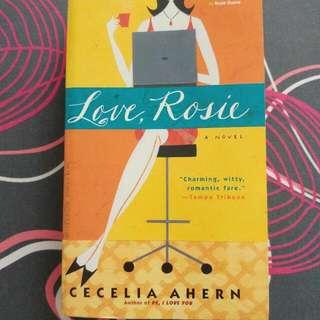 Love, Rosie - Cecelia Ahern  ℹ📒 Genre: Chic Lit. Romance. Fiction. Humour.