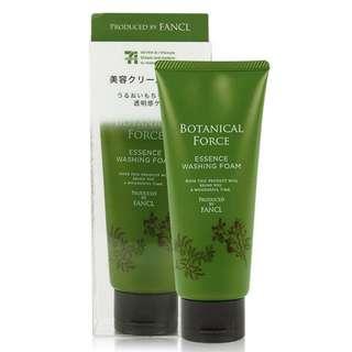 日本代購 Fancl x7-11聯名 Botanical Force草本天然洗面乳