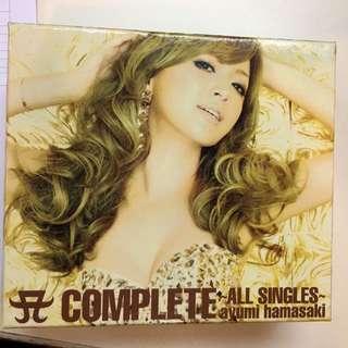 濱崎步 A Complete ~All Single~ 3CD + 1DVD Ayumi Hamasaki