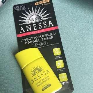 ANESSA MAKE UP 防曬 自然色 SUNSCREEN SPF50+