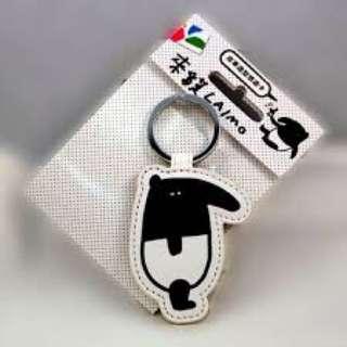 LAIMO馬來貘 限量 皮革 鑰匙圈 悠遊卡
