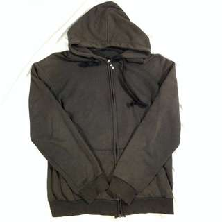 Zip Hoodie No Brand Size L Second import Murah