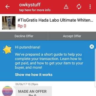Pemenang #TisGratis Cc Cream Hada Labo