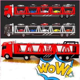 ✨免運 7-11 保時捷 造型拖車展示盒 正版 限量