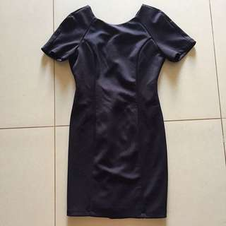 F21 Black Tailored dress