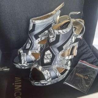 MIMCO Harlequin Platform Heels