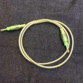 1米光纖音源線