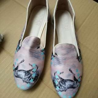 Leather Lab 女鞋 平底鞋