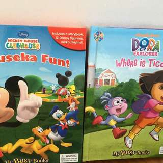 My Busy Books: Mickey Mouse & Dora