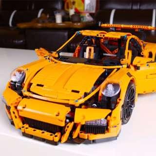 🚚 樂拼 20001 GT3 RS跑車 911 保時捷 (非 樂高LEGO 42056)