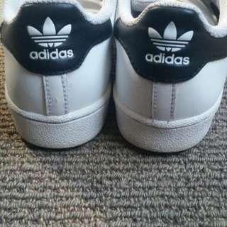 Adidas Superstar Strap-on Kids Size 2Y