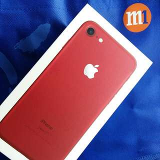 BN Iphone7 Red Edition 128GB