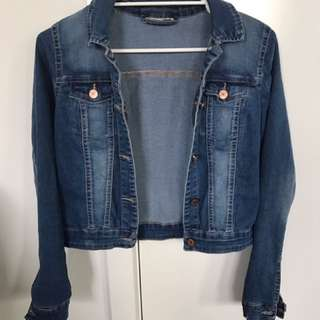 Noisy May Denim Jacket Size Small
