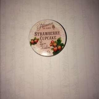 Strawberry Cupcake Lip Balm