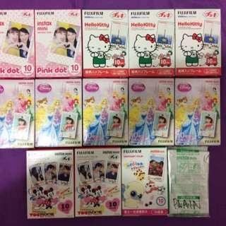 Cartoon Disney Sanrio Fuji Film Polaroid Films