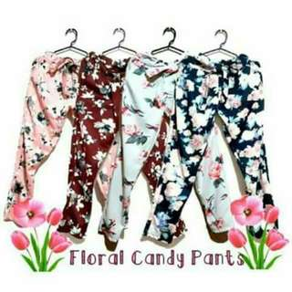 Floral Candy Pants