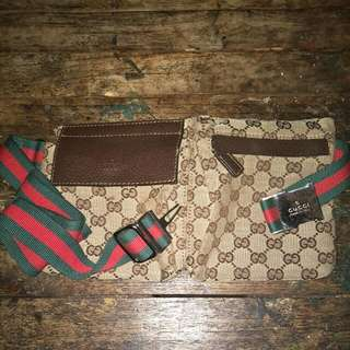100% Authentic Gucci Original GG Belt Bag