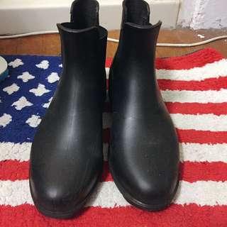 黑色百搭雨鞋