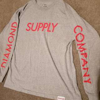 DIAMOND SUPPLY Long Sleeve