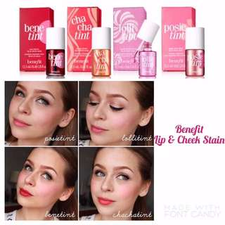 Benefit Lip & Cheek Stain