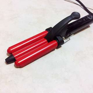 免運-雙U型波浪夾三管夾/電棒捲髮棒/深U夾/3D立體波浪夾/造型夾