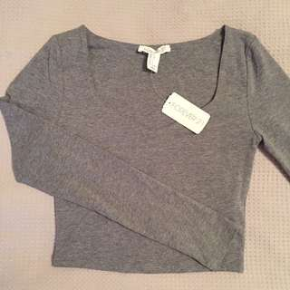 Forever 21 Long Sleeve Top New