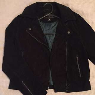 Genuine Suede Jacket