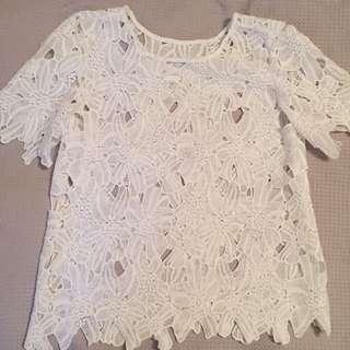 Boho White T-shirt