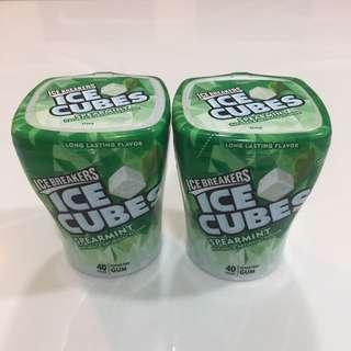 US Icebreakers Ice Cubes Chewing Gum