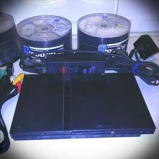 PS2 Slim版 連約280隻Games 不散賣