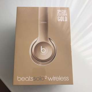 Special Edition Gold Beats Headphones