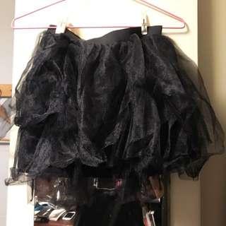 全新客人棄標 紗裙 短裙馬甲裙 性感可愛顯瘦的裙子 澎裙
