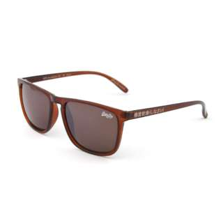 SUPERDRY sunglasses new with leather case and packaging