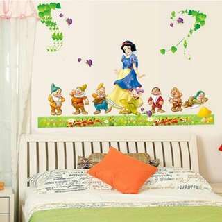 Snow White Wall Sticker