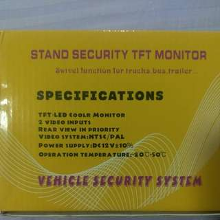 """CARCHET Wireless Car Rear View/Reverse Camera 4.3"""" TFT LCD Screen (Price Includes Postage)"""