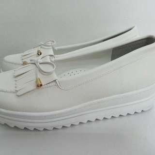 莫卡辛厚底鞋包鞋