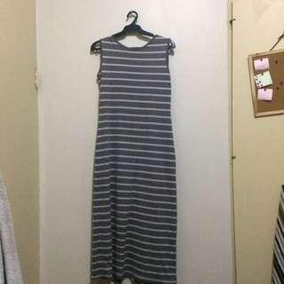 Unica Hija Stripe Summer Dress