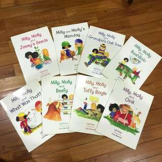 Milly Molly Books (Set Of 8 Books)