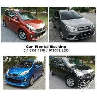 Car Rental / Kereta Sewa