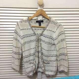 Forever 21 Crochet Blazer