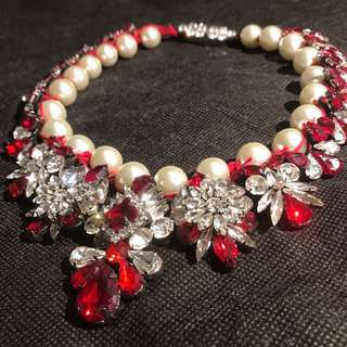Shourouk Red Necklace