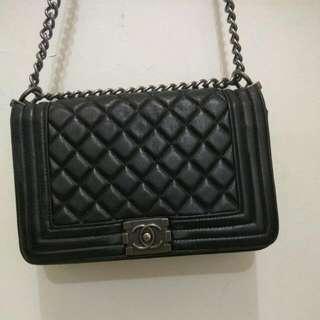 Channel Black Bag