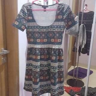 dress tribal (merk forever21)