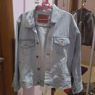 oversize denim jacket (merk levis)