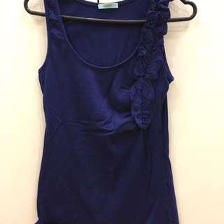 Blue Women's Kookai Top