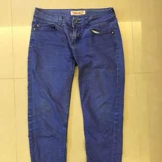 降❗️Catworld 顯瘦牛仔長褲-藍