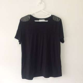 Gaudi Tshirt  w/ Shoulder Detail