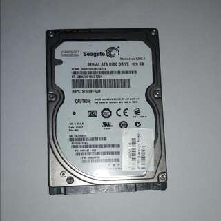 Laptop Hdd 2.5 inch Hardrive 320gb