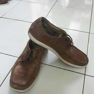 Clarks Shoes Size 42 Brown