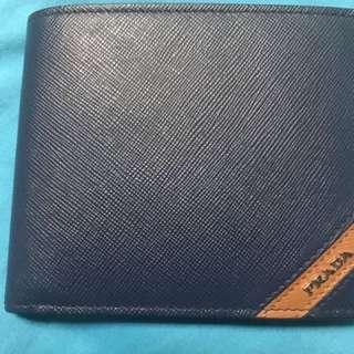 Prada Safiano Authentic Mens Wallet
